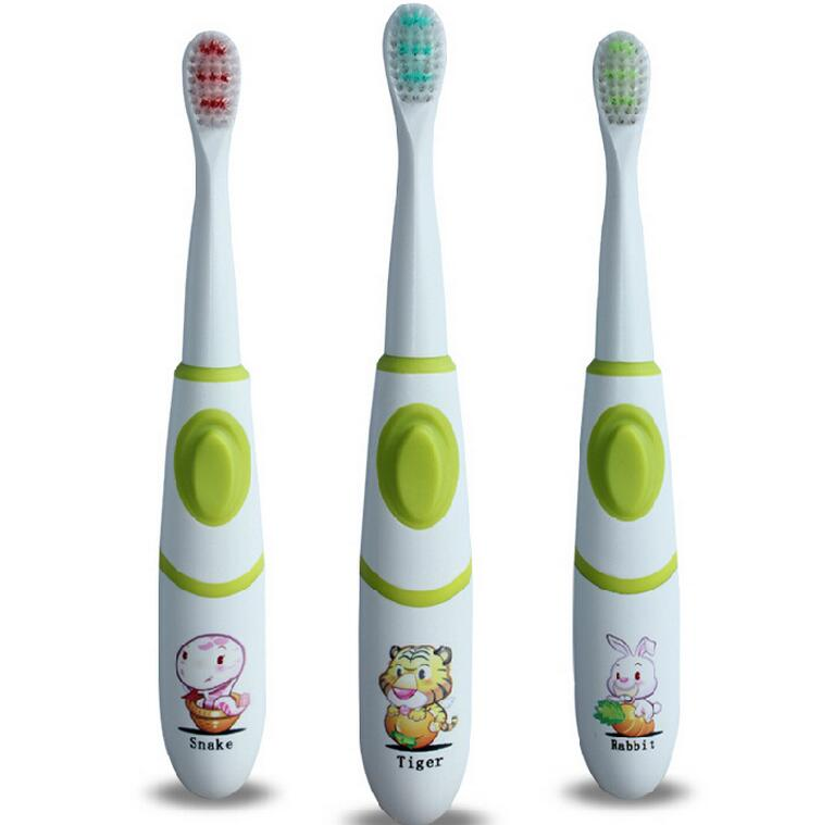 High quality font b Electric b font font b toothbrush b font Protective Deciduous Battery Operated