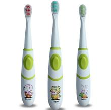 High quality Electric toothbrush Protective Deciduous Battery Operated Cartoon tooth brush Oral Hygiene for kids baby