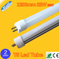 20pcs/lot T5 LED tube light 22W Led fluorescent lamp 1200mm  AC220V led tubes warranty 2 years