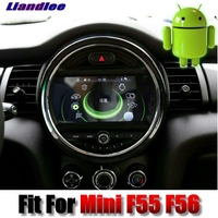 For Mini One Cooper Hatch F55 F56 2014 2018 Liandlee Android System Car Multimedia IDrive Button