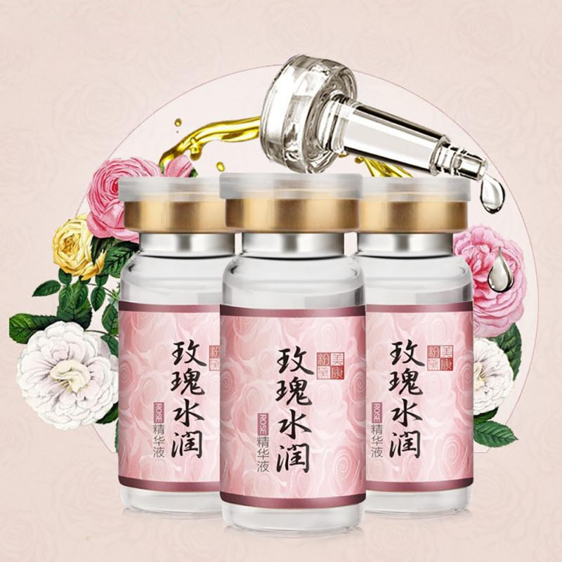 Face Cream Rose Hydrating Moistening Essence Whitening Blemish  Remove Acne Anti Wrinkle For Face Skin Care Serum