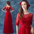 9601 Frete grátis chegam Novas vestidos de baile elegante Vestido de festa