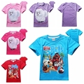 4-12 years summer New 2016 boys t shirt kids baby The Secret Life of Pets children clothing clothes for girls t-shirts Boy Tops