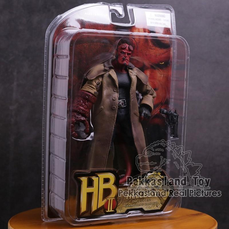Movie HB Hellboy Series Includes Samaritan Handgun PVC Action Figure Collectible Model Toy