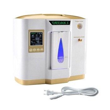 Generador De Oxígeno Portátil | Tamaño Portátil Uso Doméstico Concentrador De Oxígeno Médico En Tiempo Real 6L Ajustable Inteligente Concentrador De Pureza De Oxígeno Generador