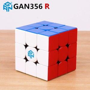 Магический скоростной куб GAN356 R S 3x3x3, профессиональная головоломка gan 356R, Обучающие кубики, игрушки для детей gan 356 R RS