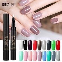 hot deal buy 58 colors 3 in1 one step gel nail varnish pen nail gel polish hybrid glitter nail art tool uv gel lacquer nail polish base top