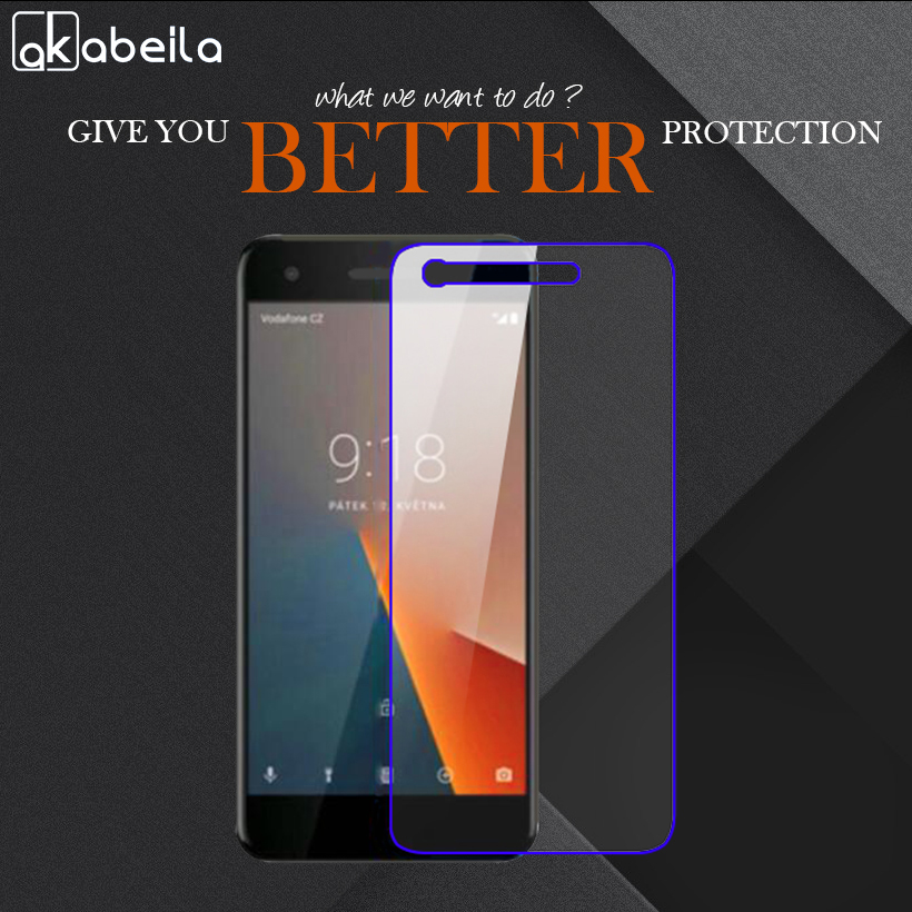 AKABEILA Phone Tempered Glass For Vodafone Smart V8 VFD710 VFD 710 VFD-710 5.5 Inch Tempered Glass Wholesale