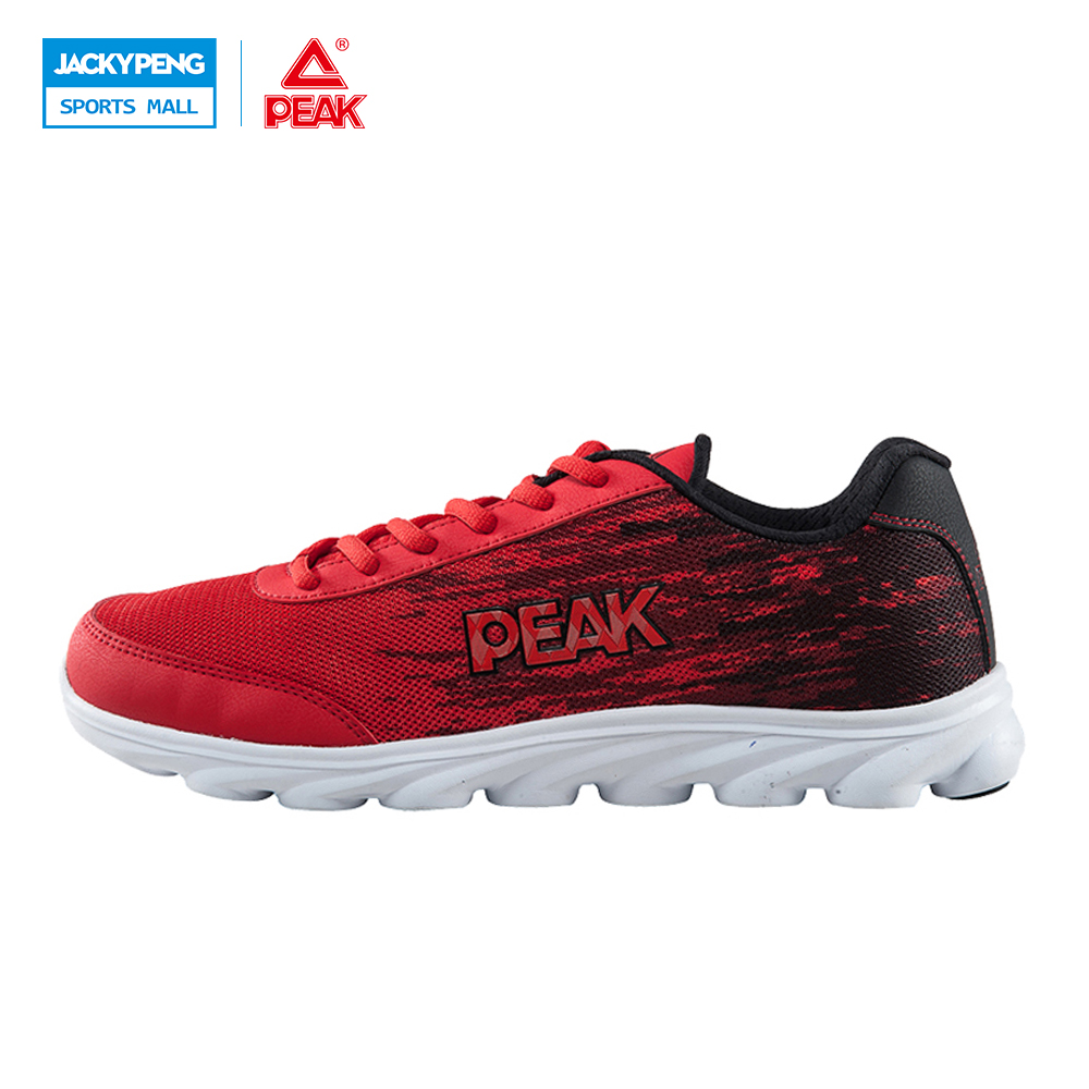 PEAK New Breathable Outdoor Lovers Hot Breathable Running Shoes For Men And Women Shoes Trend Sports Sneakers do dower men running shoes lace up sports shoes lovers yeezys air outdoor breathable 350 boost sport sneakers women hot sale