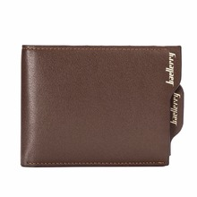 2018 brand baellerry men's leather wallets Bifold Wallet ID Card holder Coin Purse Pockets Clutch with zipper Coin Bag