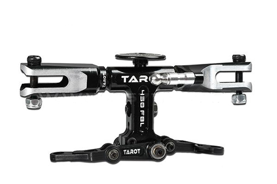 Tarot 450FL Parts Flybarless Rotor Head Black TL45110-03  Tarot 450 RC Helicopter Spare Parts FreeTrack Shipping tarot tl48023 01 metal carbon fiber tail gearbox assembly tarot 450 rc helicopter spare parts freetrack shipping