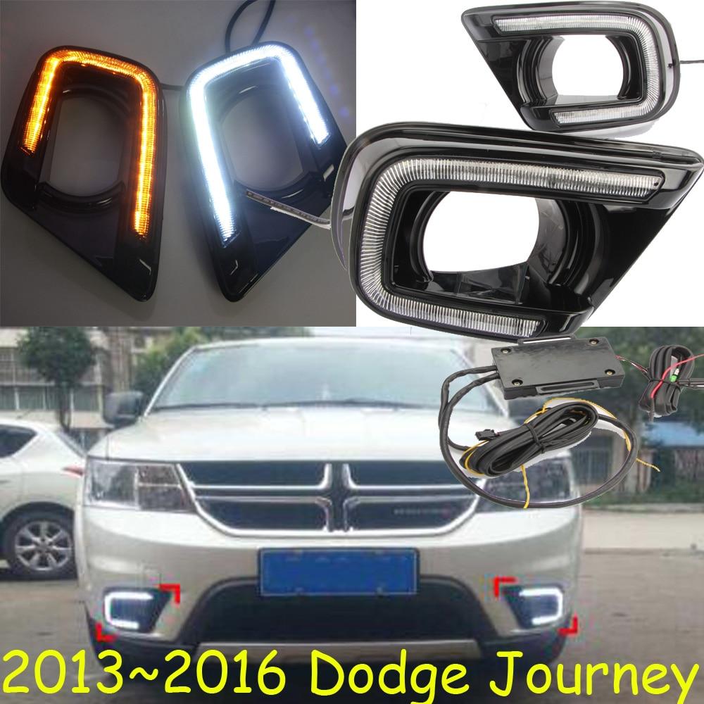 Dodg Journey daytime light;2009~2012/2013~2016,Free ship!LED,Journeyfog light,2ps/set;Journey 2013 2016 innova daytime light free