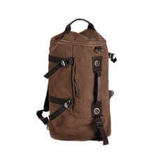 2018 out canvas men travel bags top handle duffle bag vintage women travel backpack casual men hand bag sac de voyage 681t