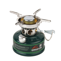 Camping Gasoline Stove Non Preheating No Noise Oil Furnace Picnic Burners Petrol Stove Cookware