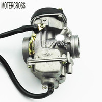 Free AE Shipping 30mm Carburetor JIANSHE LONCIN BASHAN 250cc ATV250 JS250 Carburetor For Qingqi QM250GY Manual