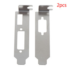 2pcs/ set Low Profile Bracket Adapter HDMI DVI Port For Half Height Graphic Video Card Set(China)