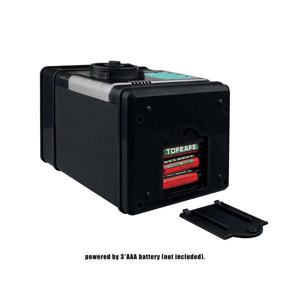 Electronic Piggy Bank ATM Password Money Box Cash Coins Saving Box ATM Bank Safe Box Automatic Deposit Banknote Christmas Gift 15