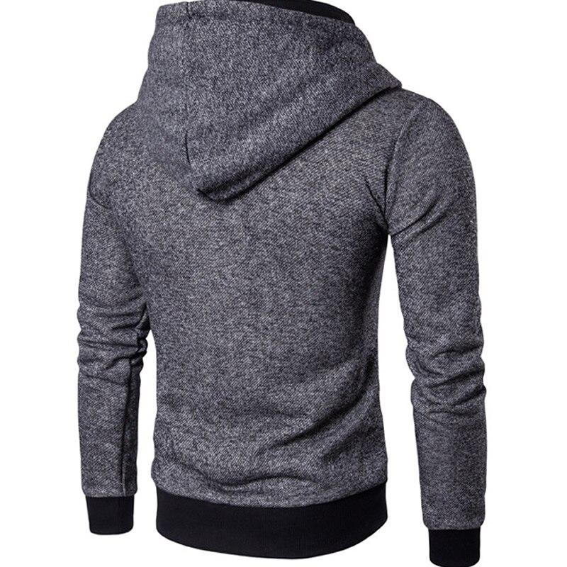 Men Hoodies 2018 Casual jacket Men cotton Solid Sweatshirts Fashion Hip Hop Warm Hoody Polo Mens Hoody Coats