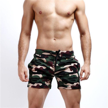 New Camouflage shorts low waist men casual Trunks Comfort Homewear Fitness Workout Shorts