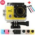 SJ9000 Mini Câmera HD 1080 P Câmera 2.0 'LCD 14MP Mergulho 30 M À Prova D' Água Esporte CAM Câmera Ao Ar Livre Câmera Mini DVR + 1 pc selfie vara