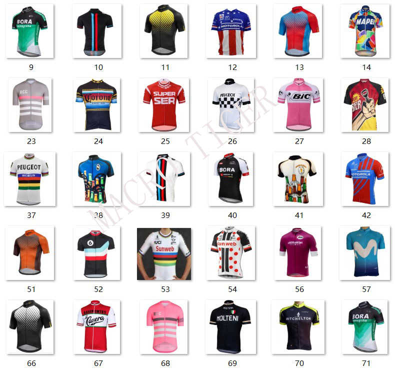 f2c652d3d ... 2018 pro girode italy italia team pink summer cycling jerseys quick-dry  bike clothing MTB ...
