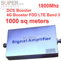 Band 3 FDD LTE 4G booster +DCS repeater gain 55dbi LCD display function 1800Mhz mobile phone signal booster FDD LTE  repeater 4G