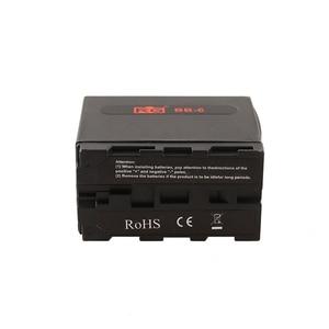 Image 3 - BB 6 6 יחידות AA סוללה מקרה הסוללה מחזיק כוח כמו NP F NP 970 סדרת סוללה עבור LED וידאו אור לוח /צג