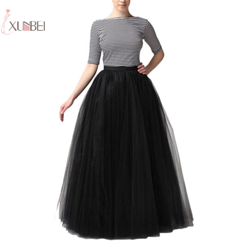 Long Bridal Wedding Petticoat Crinoline Ball Gown Skirt Underskirt Wedding Accessories Jupon Marriage New in Petticoats from Weddings Events