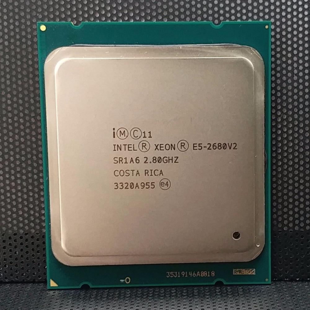 Intel Xeon E5 2680 V2 sr1a6 Процессор процессор 10 core 2.80 ГГц 25 м 115 Вт e5-2680 V2