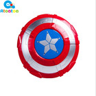 27cm Shield Toy Avengers Alliance Captain America Collectible Model LED Flash Shield Light&Sound Captain Shield Kid Toy