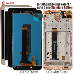 LCD Screen +Touch Display with frame for Xiaomi Redmi Note 3 Pro Soft-key Backlight for Xiaomi Redmi Note 3/ Prime 5.5''(150mm)