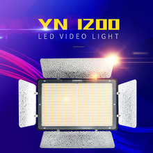 Yongnuo YN1200 LED photography light camera fill light conference room studio stage micro-film fill light CRL 95