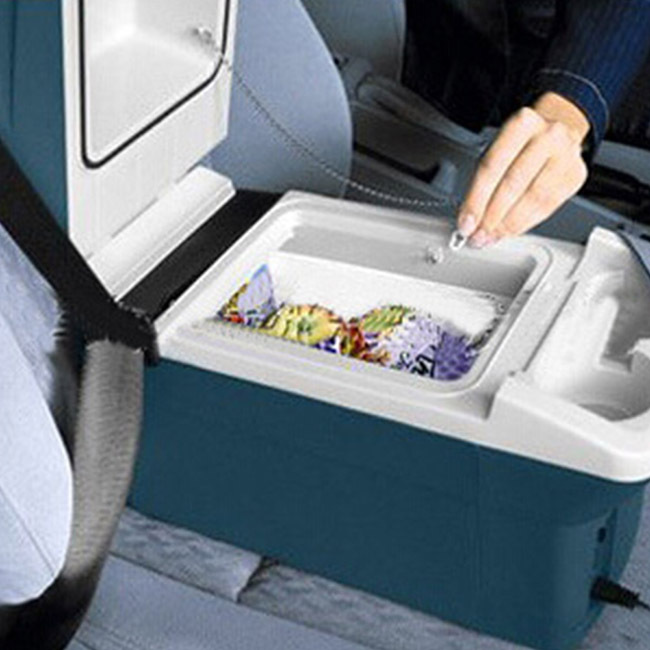 Glantop New Arrival Mini Refrigerator Keep The Food Fresh Fit for Car Portable Cooler Free Shipping GLTHSG0182