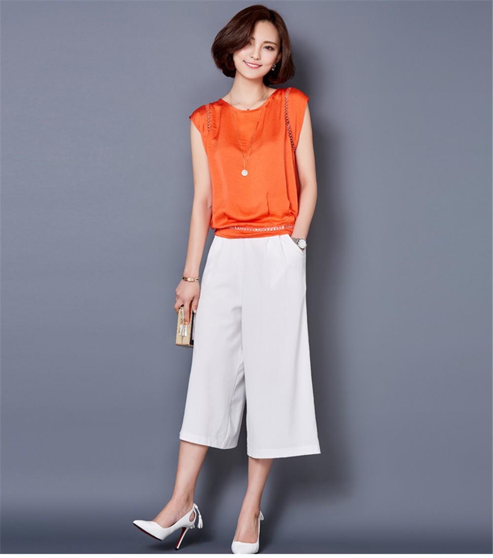 Big Size M-3XL Luxury Chiffon Tank Top For Women Summer Fashion Crop Tops Women\'s Sleeveless Tank Vest Tops Lady Sexy Camis (17)