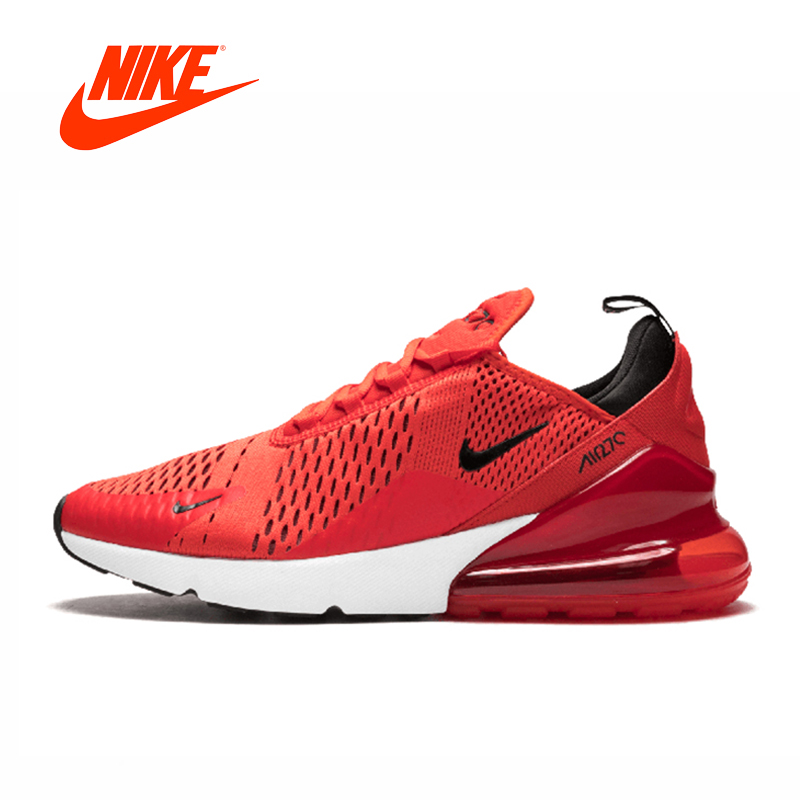 Nike Air Max 270 Men's Running Shoes Original New Arrival Authentic Sports Outdoor Sneakers Breathable Comfortable original new arrival authentic nike breathable air max motion lw men s running shoes sneakers white blue comfortable