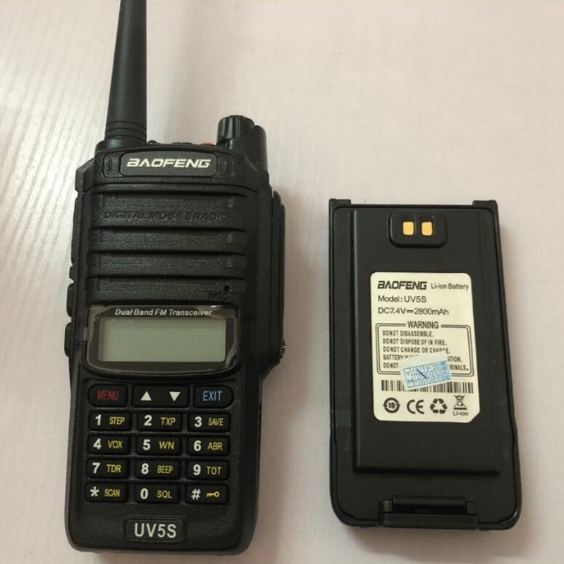 Baofeng UV-5S two way radio extra battery 2800mAh Battery for UV-5S walkie talkie powerful Li-ion battery
