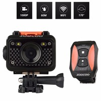 SOOCOO S60 HD 1080P WiFi Sports Action Camera 170 Degrees Wide Angle Lens 60m Waterproof 2.4G wireless remote control