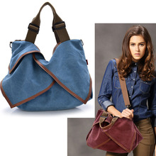 цены 2017 Canvas handbags top quality women shoulder designer Solid Ruffels casual Cross body messenger  bag large totes