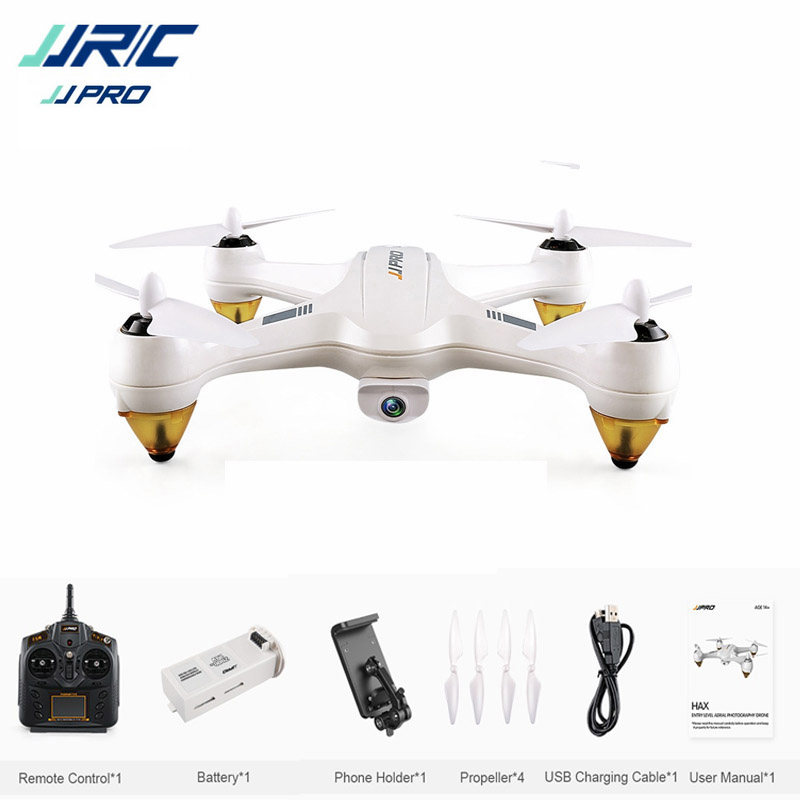 JJRC JJPRO X3 HAX Brushless Doppio GPS WIFI FPV w/1080 P HD macchina fotografica RC Drone Quadcopter Giocattolo RTF VS Eachine EX1 Hubsan H501S H502E