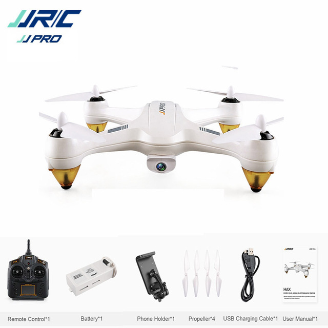 JJRC JJPRO X3 HAX Brushless Double GPS WIFI FPV w/ 1080P HD...