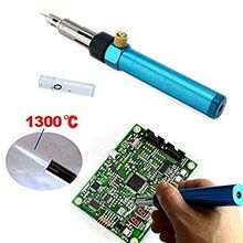 Cordless Soldering Iron Gun Gas Solder Iron Welding Pen Burner Butane Blow Torch Hot Air Gun Soldering iron Tools(China)