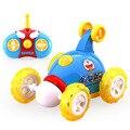 2.4G Controle Remoto Caindo Carro Dublê Dumpers DORAEMON Musical Da Bicicleta Da Sujeira Carro de controle Para Crianças USB Cobrado SUV Carros de Brinquedo ABS DD031