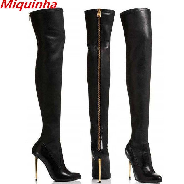 Online Get Cheap Stretch Lycra Thigh High Boots -Aliexpress.com ...