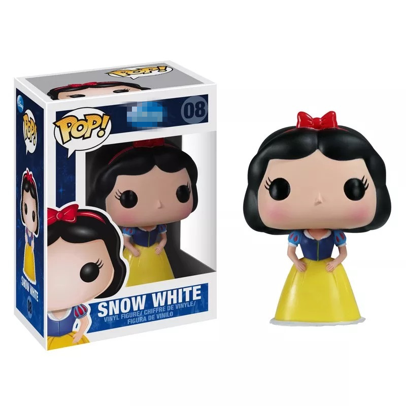 Official Funko pop Snow White Princess Vinyl Action Figure Collectible Model Toy with Original Box  funko pop games illidan 14 pvc action figure collectible model toy 4 10cm kt2242
