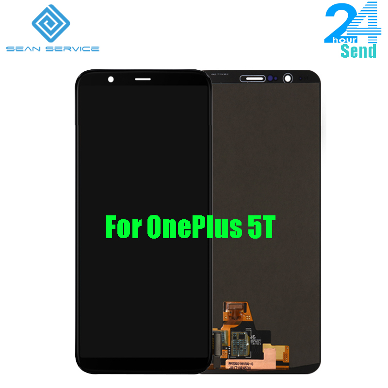 For Oneplus 5T LCD Display+Touch Screen Digitizer Assembly 6.01 inch 2160x1080P For Oneplus Five T  For Oneplus 5T LCD Display+Touch Screen Digitizer Assembly 6.01 inch 2160x1080P For Oneplus Five T
