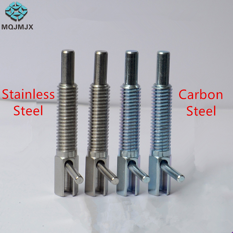 Stainless Steel/Carbon Steel Indexing Plungers Lever Type  Coarse Thread  M6 M8 M10 M12 M16