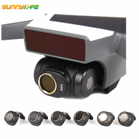 Sunnylife DJI Spark Gimbal Camera Lens Filter Combo Multi Layer Coating Films ND4 ND8 ND16 ND32