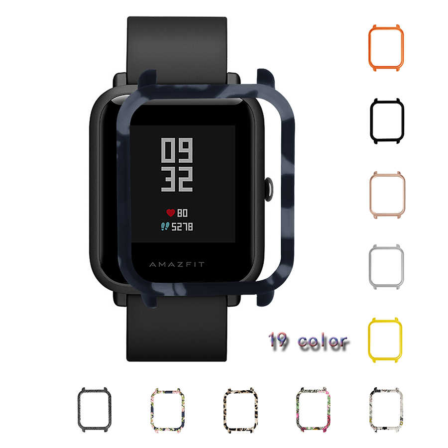 TAMISTER coloré housse étui à pc pour Xiaomi Huami Amazfit Bip jeunesse montre mince coque de protection cadre pour Amazfit Bip accessoires