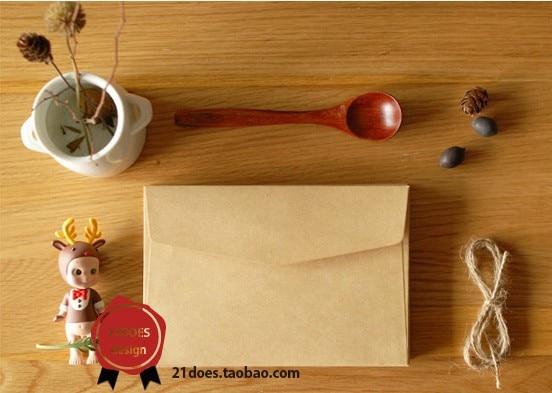 50 шт / комплект 160* 110мм старинные конверт/бумага/конверты бумажные/конверты для писем хранения крафт мини небольшие конверты - Цвет: Design B