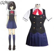 Another Misaki Mei Akazawa Izumi costume anime cosplay girls japanese school uniform skirt Custom made